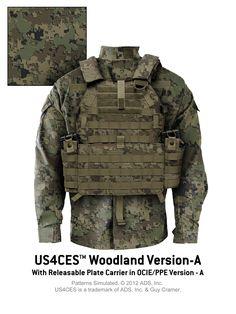 US4CES™ Version-A -- Woodland