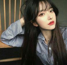 I wanna look like her (and all ulzzang girls) Korean Girl Ulzzang, Cute Korean Girl, Uzzlang Girl, Korean Beauty, Asian Beauty, Girl Korea, Asia Girl, Asian Hair, Beautiful Asian Girls