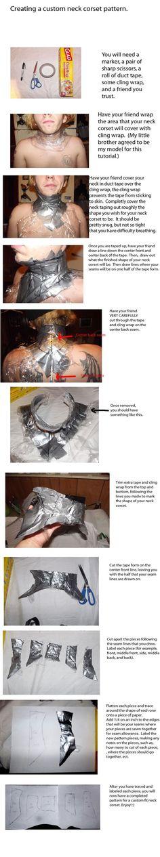 neck corset: