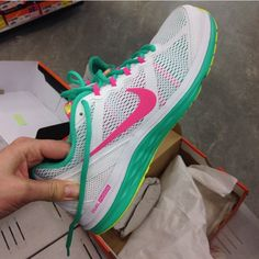 Nike trainers when they were beautiful and new