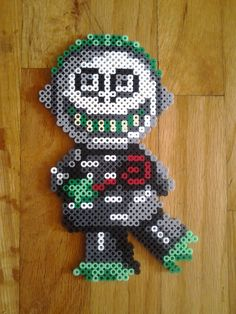 Nightmare Before Christmas perler beads by TheSleepyBear