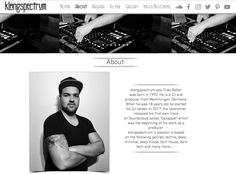 Check out my website!!! www.klangspectrum.com