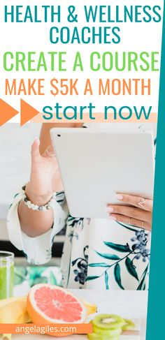 Are you a health and wellness coach or health enthusiast who wants to earn extra income? You can create and sell online courses from your very own website.