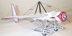 The Flight of the Phoenix Free Aircraft Paper Model Download