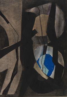 Fritz Winter (Germany, 1905 - 1976) Untitled 1971
