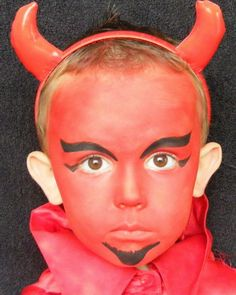 face painting devil more - Devil Halloween Makeup Ideas