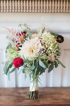 Bridal bouquet by petalsandtwigsrva.com  Photo by Shalese Danielle Photography