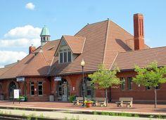 Kalamazoo Amtrak Station by Eridony, via Flickr