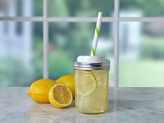 Introducing the Ball® Mason Jar Sip & Straw Lids! The BPA free plastic lids fit perfectly on Ball® Regular or Wide Mouth mason jars so you can enjoy your favorite cold drinks, smoothies or summer tea.