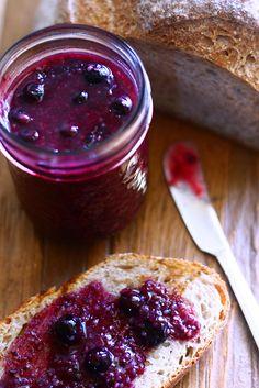 Blueberry and Hemp Seed Jam