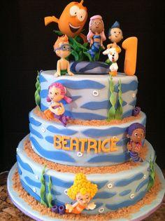 bubble guppies birthday cake - Google Search