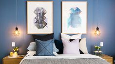 In Pictures: Dean and Shay's penthouse-worthy guest bedroom | The Block | 9Jumpin