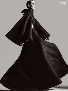 Dramatic Grayscale Editorials : V Magazine 'Pump Up The Volume'