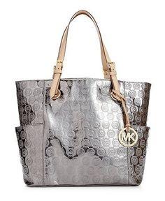 Michael By Kors Signature Patent East West Tote Love Mine Replica Designer Handbags Whole