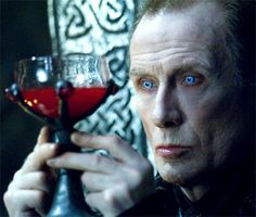 """Vampire coven leader Viktor (played by Bill Nighy) contemplates his future in """"Underworld"""". Underworld Vampire, Underworld Movies, Underworld Selene, Dracula, Bill Nighy, Evil Dead, Vampire Pictures, The Frankenstein, Witches"""