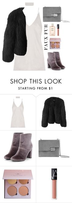 """Classy Fur"" by anandptr on Polyvore featuring Balenciaga, NARS Cosmetics and Chanel"
