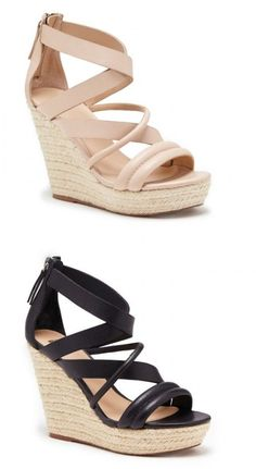 Don't like heels but I can rock a wedge!!