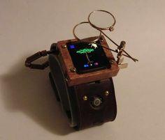Arduino Watch (steampunk edition)