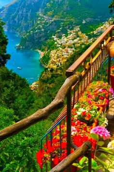 Ocean View, Amalfi Coast, Italy. Another great reason to go to Italy