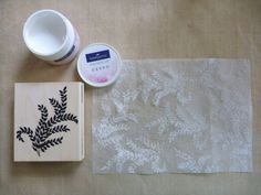 They Call Me Tatar Salad: Gesso Stamped Dryer Sheet Card Set - Faber-Castell + Penny Black Giveaway!