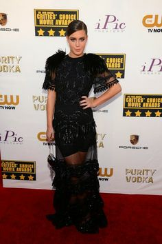 Adèle Exarchopoulos in Louis Vuitton - Critics' Choice Movie Awards 2014
