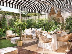 Outdoor Balcony, Small Backyard Patio, Backyard Retreat, Backyard Paradise, Outdoor Spaces, Outdoor Living, Outdoor Decor, Terrasse Design, Balkon Design