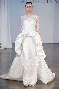 Collection printemps 2014 - marchesa #mode #mariage