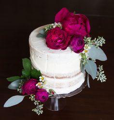Kari Young Floral Designs Cake by Tina Wells