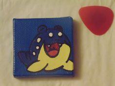 Handmade Spheal Pokémon Magnet available at yumjellydonuts.etsy.com