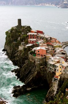 Vernazza, Cinque Terre, Italy ------- hiking along the Mediterranean Sea, Stayed here in August 2007
