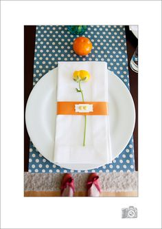 adorable place setting.