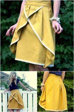DIY Pinwheel Skirt Step by Step Instructions