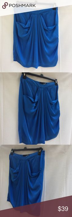 Love mochino blue skirt sz 6 ladies Italy Romania Love Moschino blue skirt. Size 6. 70% viscose 30% sale. Made in Romania. Pre-loved in excellent condition. Women's Ladies Fashion. Check out my closet, we have a variety of women's, Victoria Secret, handbags  purse  Aerosoles, shoes fashion jewelry, necklace, clothing, dress, Beauty, home  .  Ships via USPS. Smoke & Pet-Free. Offers 30% OFF bundle discount. Always a FREE GIFT  with every purchase!!! Thank you. Love Moschino Skirts Midi
