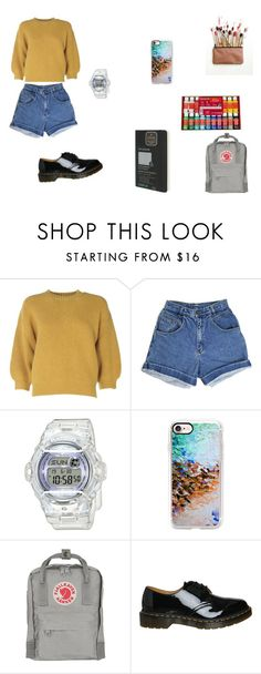 """Art Hoe Aesthetic"" by twerkfinite ❤ liked on Polyvore featuring 3.1 Phillip Lim, Baby-G, Casetify, Dr. Martens, Moleskine, autumn, artist and aesthetic"
