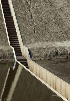 Moses Bridge, Ro&Ad, world architecture news, architecture jobs - Moses b ridge with explanation