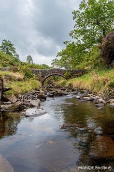 This small packhorse bridge once stood in the heart of the now submerged hamlet of Goyt's Bridge. It was moved here, beside the single-track road from Errwood carpark to Derbyshire Bridge, just before the valley was flooded.