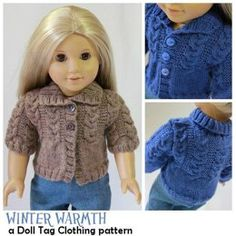 Winter Warmth for 18 inch dolls