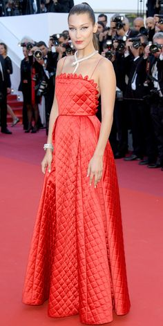 All the Celebrity Looks from the 2017 Cannes Film Festival Red Carpet - Bella Hadid from InStyle.com
