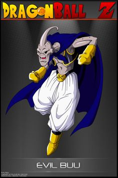 Dragon Ball Z - Evil Buu by DBCProject on DeviantArt