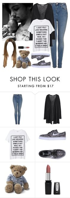 """Meeting Freddie Tomlinson for the first time. -----> *Cynthia."" by imaginegirlsdsos ❤ liked on Polyvore featuring Topshop, H&M, Monki, NIKE, Lexington and Isadora"