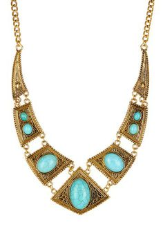 Natural Turquoise Necklace on HauteLook
