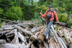 The wild Pukaskwa Coastal Trail in Pukaskwa National Park is a challenging hike near Lake Superior. It was a wonderful multi-day hike and a great experience. Visit Canada, Lake Superior, Day Hike, Bradley Mountain, Prepping, Coastal, Trail, National Parks, Hiking