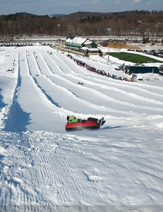 snow tubing-one of the must fun things to do EVER!!!