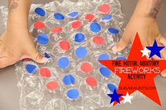 Fourth of July Fireworks Activity: Fine motor and auditory learning and visual perceptual skills! Fine Motor Activities For Kids, Activities For Adults, Camping Activities, Sensory Activities, Summer Activities, Learning Activities, Preschool Activities, Auditory Learning, Movement Activities