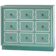 "Love this ""Tiffany Blue"" Kendel Chest"
