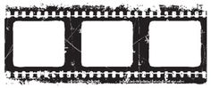 *Tim Holtz Rubber Stamp NEGATIVE p6-1283 Film Strip Stampers Anonymous.  LOVE this! =)
