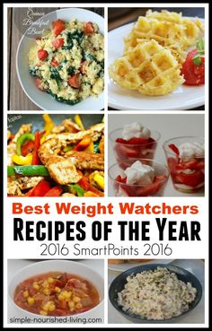 best weight watchers recipes of the year (2016) with SmartPoints
