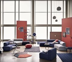 Angle is a modular sofa consisting of six different building blocks you can combine, couple and colour as you like. The sofa is designed by Says Who   #Sayswho #Nooneliveslikeyou Newscandinaviandesign