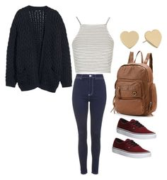 """""""Cute casual outfit for school"""" by madisenharris on Polyvore"""