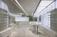 Giacinti Pharmacy by Alessia Silvestrelli store design